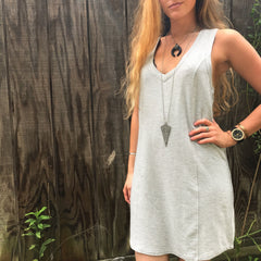 Eartha Grey Dress by BB Dakota at Charm Boutique