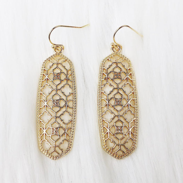 Kendra Filigree Earring