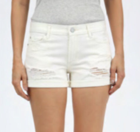 Behy Boyfriend Short in Glasgow Wash