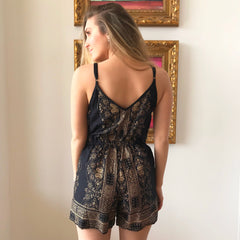Saints Romper by Angie at Charm Boutique in Gulf Shores, Alabama