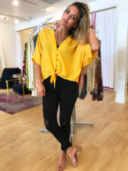 Dots of Sunshine Blouse