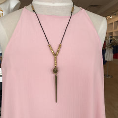 Oma Din Necklace by Boho Gal at Charm Boutique