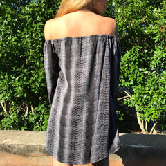 Concord Off the Shoulder Top by Buddy Love at Charm Boutique Gulf Shores