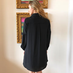 Spense Black Embroidered Dress by BB Dakota at Charm Boutique