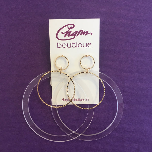 Cyndi Hoop Earrings