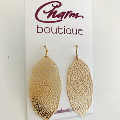 Dream Catcher Filigree Earring at Charm Boutique Gulf Shores
