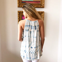 Abstract Braid Tank by Karlie at Charm Boutique in Gulf Shores
