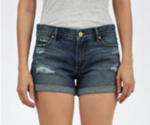 Behy Boyfriend Short in Lucerine Wash