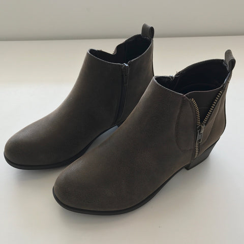 Zoey Zip Up Bootie