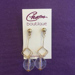 Crystal Ball Earring