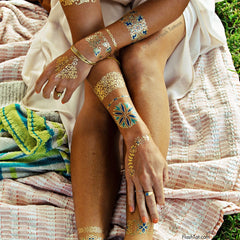 Isabella Flash Tattoos at Charm Boutique in Gulf Shores