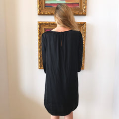 Black Long Sleeve Dress by Mod Ref at Charm Boutique