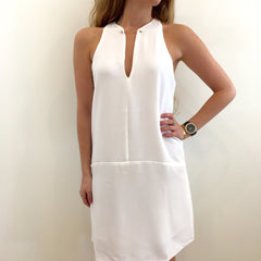 Ivory Mod Dress at Charm Boutique Gulf Shores