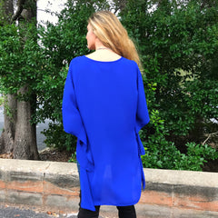 Royal Poncho Kimono by Caramela at Charm Boutique Gulf Shores