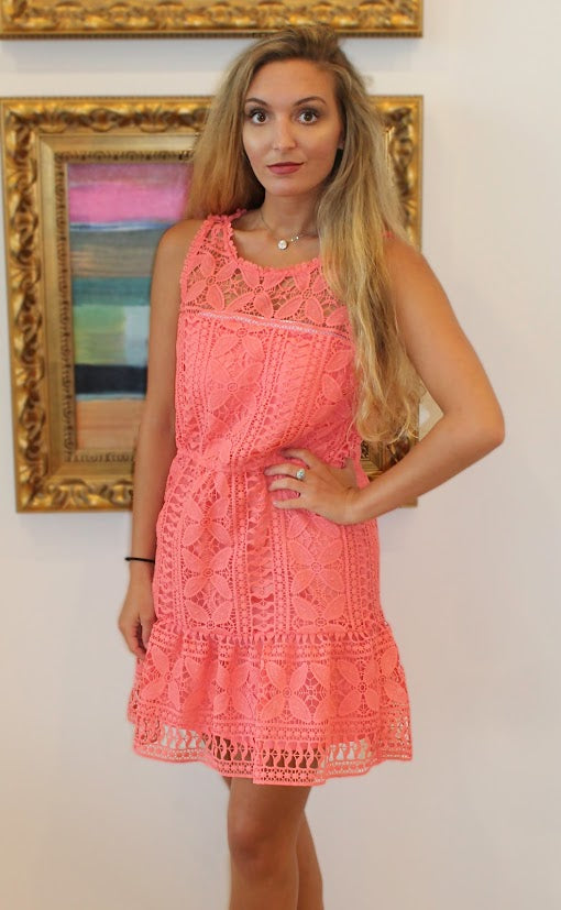 Sandra Sugar Coral Dress