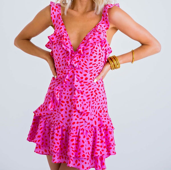 Pretty & Wild Cheetah Dress