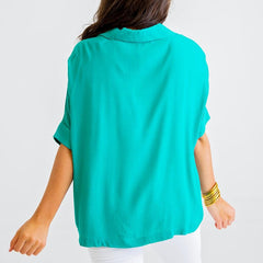 Emmy Emerald Blouse