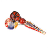 HM-1201 (7 inch multi colored Hammer Bubbler)