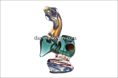 BUB-1095 (4 inch Mini Green Bubbler)