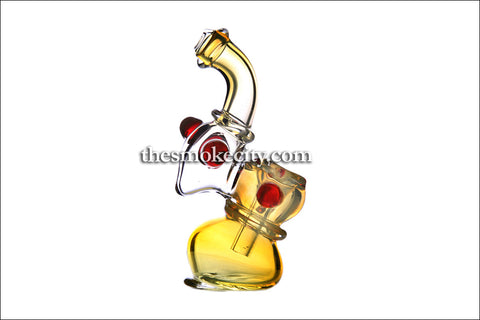 BUB-1143 (4 inch Mini Yellow Bubbler)