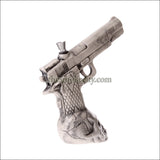 CR-1204 (8 inch white Ceramic Gun Pipe)