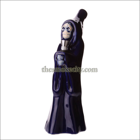 CR-1221 (10 inch Blue Ceramic Ghost Pipe)
