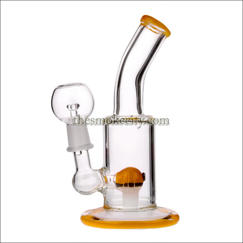 CP- 1201 (6 inch Yellow Concentrate Glass Pipe)