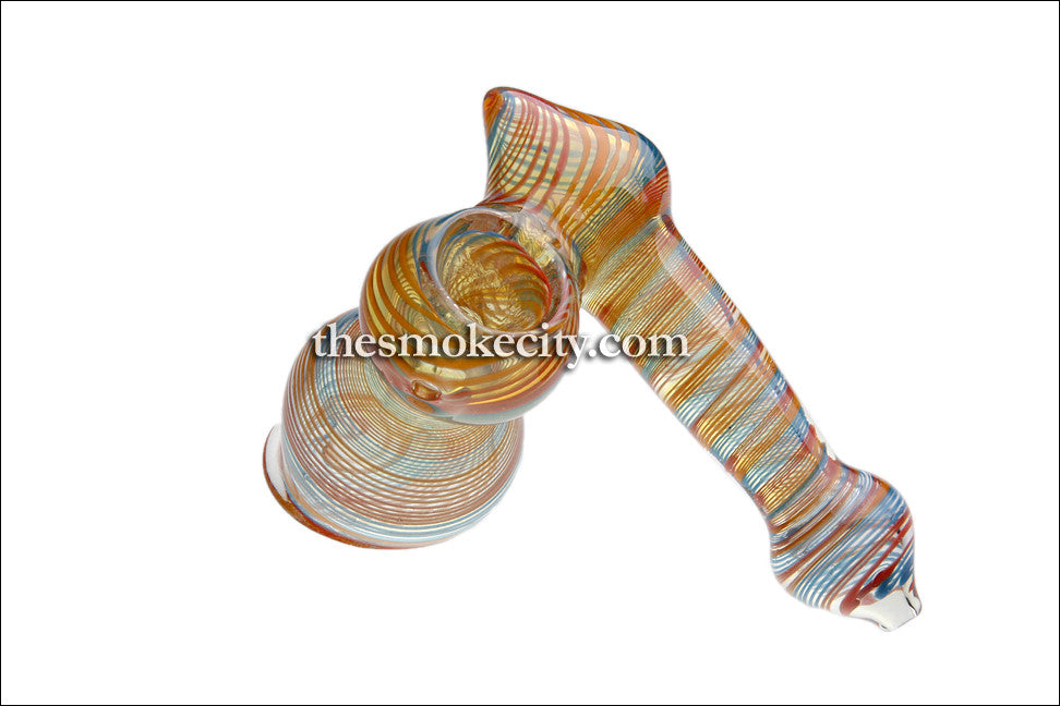 HM-1108 (5 inch glass Hammer Side car Bubbler)