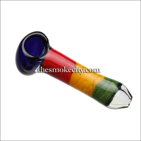 "Hand Pipe -1027 (5"" Rasta color Hand Pipe)"