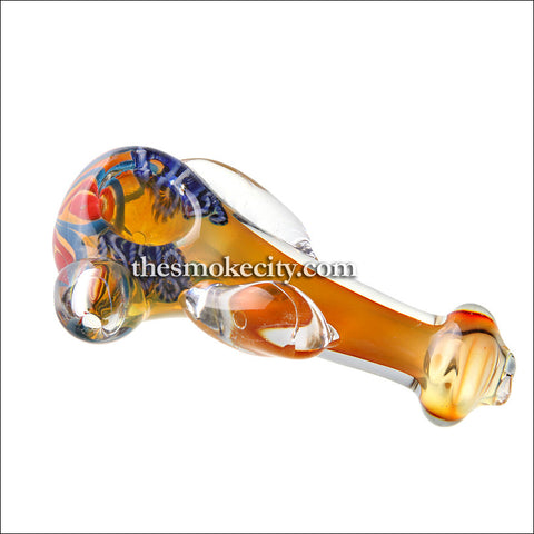 "Hand Pipe -1032 (5"" Heavy Yellow Hand Pipe)"