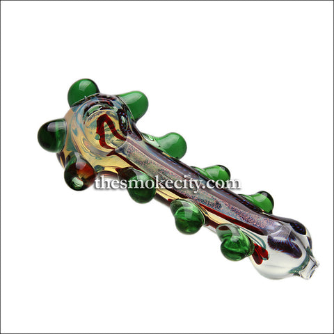HP-1035 (5 Inch Glass Hand Pipe with Dichro)