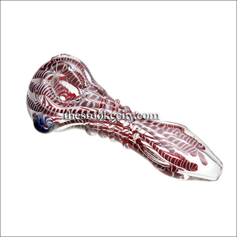 Hand Pipe -1093 (5 inch candy cane pattern pipe)