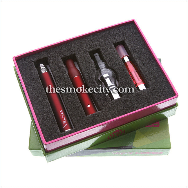 VP - 1097 (3-in-1 Vaporizer Vape Pen -Red)