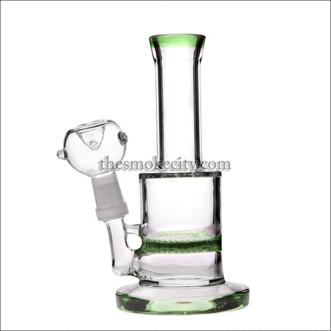 WP- 1202 (7 inch Green Honey comb Percolator Water Pipe)