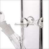 WP- 1214 (12 inch Clear Glass Stright tube Water Pipe)