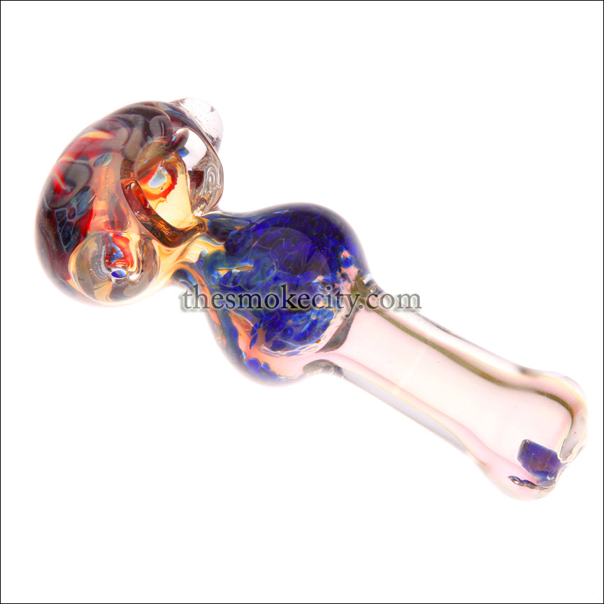 HP- 1203 (5 inch Pink Glass Hand Pipe)