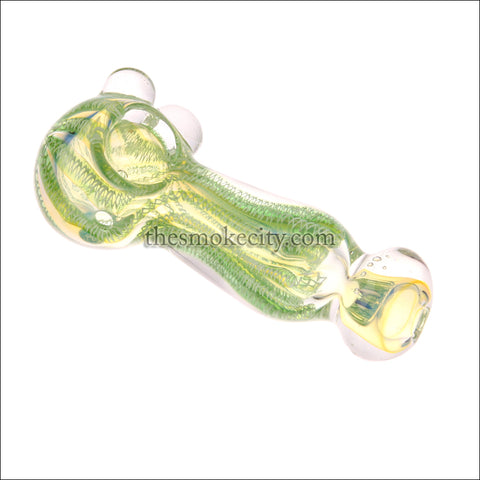 HP- 1205 ( 5 inch Green Glass hand Pipe)