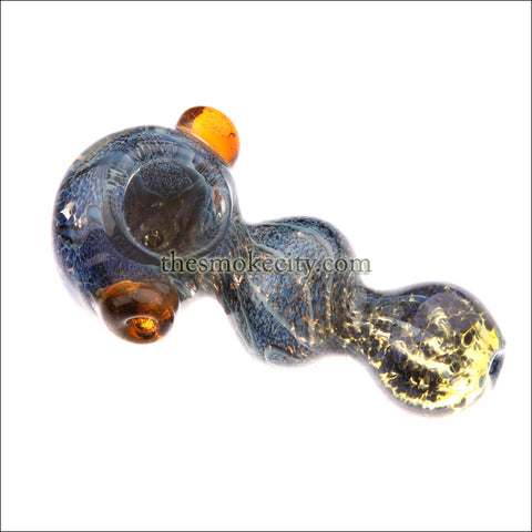 HP- 1208 (4 inch colored Glass Hand Pipe)