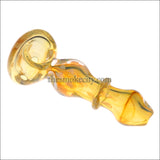 HP- 1224 (5 inch Translucent Yellow Glass Pipe)