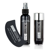 Hair Illusion Hair Fibers, Optimizer, Spray Combo for Concealing Bald Spots, Hair Loss, Thin Edges, Receding Hairlines and Alopecia