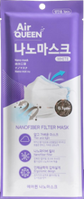 Air Queen White Nanofiber N95 Filter Mask Dust and Flu Mask