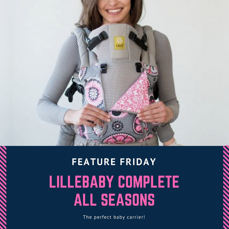 Feature Friday Lillebaby Complete All Seasons Baby Carrier Review