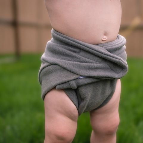 Bumby wool abrazo hook and loop diaper cover