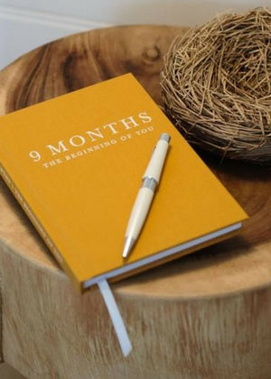9 Months Pregnancy Journal  -Go Green Baby
