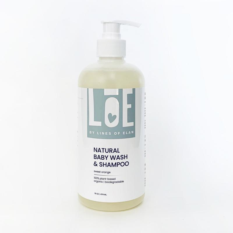 Lines of Elan Baby Body + Bath Wash