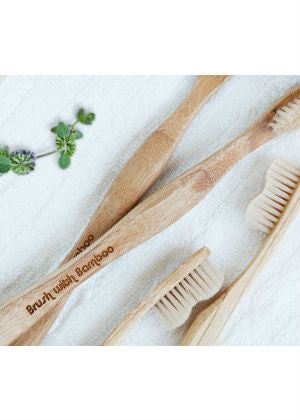 Brush with Bamboo Toothbrushes  -Go Green Baby