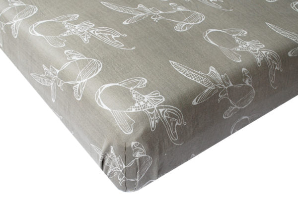 Nest Designs Fitted Bamboo Crib Sheet