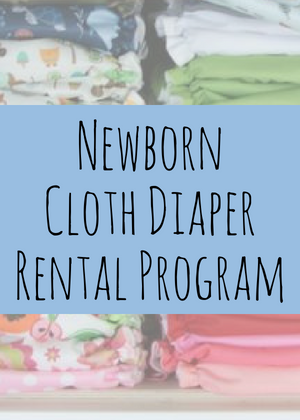 Newborn Cloth Diaper Rental Program