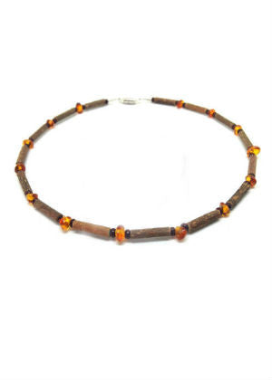 Hazelwood & Amber Necklaces  -Go Green Baby