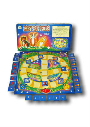 Lost Puppies Board Game  -Go Green Baby